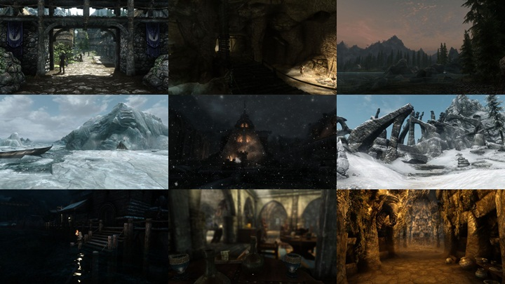 Skyrim Enhanced Shaders FX v1 1Pr12 (FULL SSAO) - Skyrim ENB